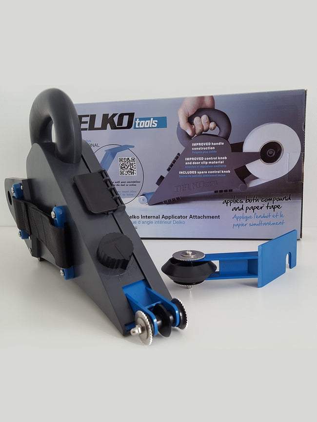 Delko Drywall Banjo Taper & Internal Applicator Combo - Toolriver | Online Taping Tools Boutique - Banjo - Delko Tools