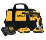 Dewalt 20V MAX XR® Brushless Drywall Screwgun & Cut-Out Tool Combo Kit - DCF620D2 - Toolriver | Online Taping Tools Boutique - Power Tools - Dewalt