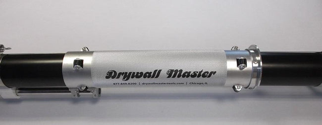 "Drywall Master Automatic Bazooka Taper - 53"" Length - Silver Style - Toolriver 