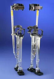 "Dura-Stilts 18"" to 30"" Model IV Adjustable Stilts - Aluminum - Toolriver 