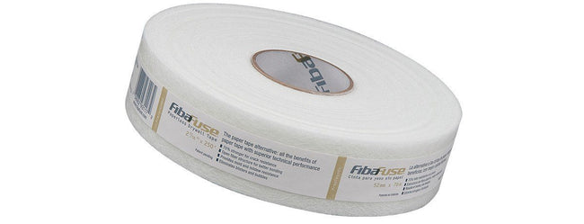 "FibaFuse™ Creaseless Paperless Drywall Tape - 2-1/16"" x 250' Roll - Toolriver 