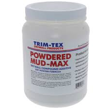 Trim-Tex Powdered Mud-Max Drywall Compound Booster - 2.8lb Jar - Toolriver | Online Taping Tool Boutique - Compound Colouring & Additives - Trim-Tex Drywall Products