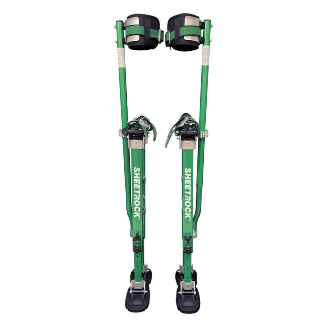 "USG Sheetrock 18"" to 30"" Ultra-Lightweight Drywall Stilts - Magnesium - Toolriver Taping Tool Boutique - Stilts - Sheetrock"