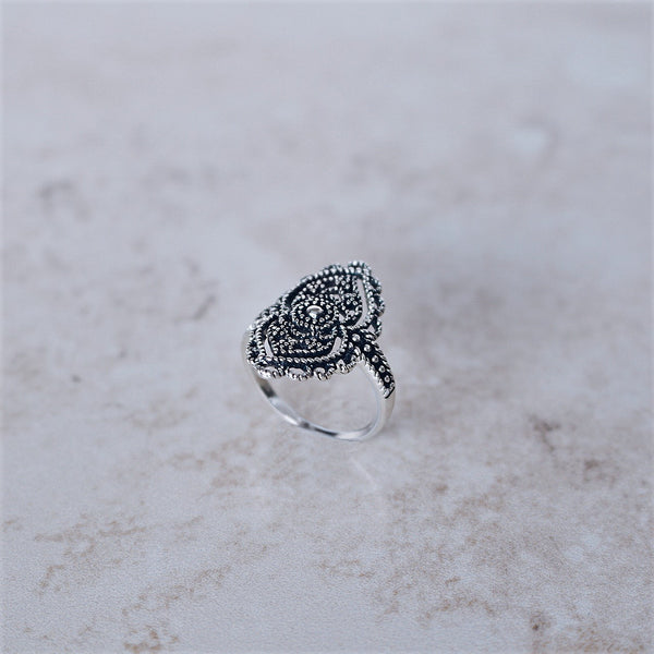 Regal Rose Ring