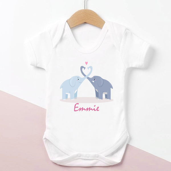 2 Elephants Bodysuit