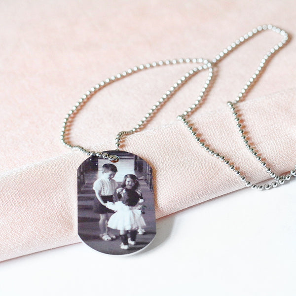 Photo Tag Necklace
