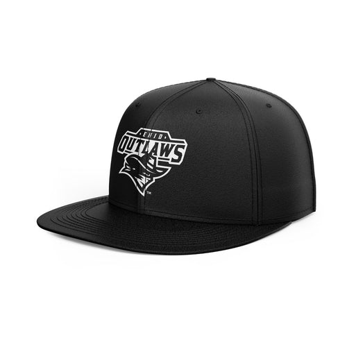 Enid Outlaws Official Team Logo Hat · Flat (Whiteout)