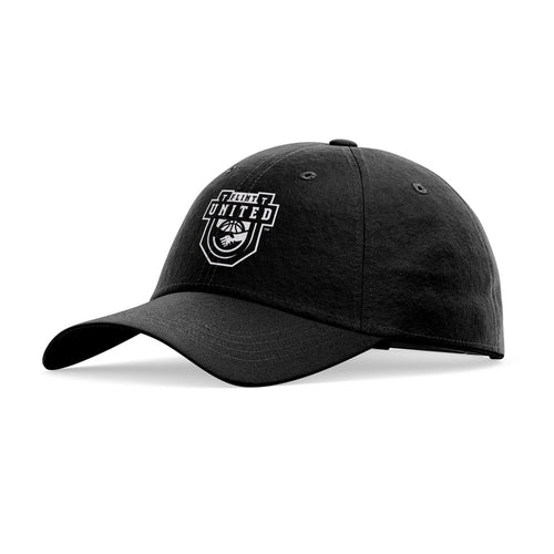 Flint United Official Team Logo Hat · Rounded (Whiteout)
