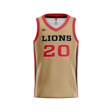 Gulf Coast Lions Official Home Jersey