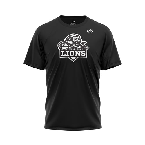 Gulf Coast Lions Black Out Shirt