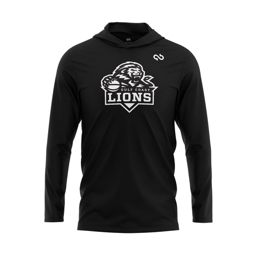 Gulf Coast Lions Black Out Hoodie