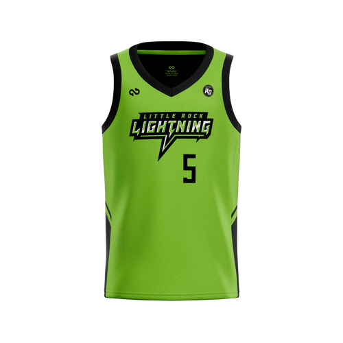 Little Rock Lightning Official Home Jersey