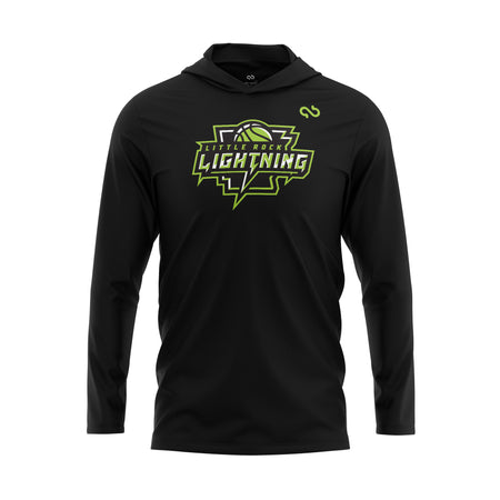 Little Rock Lightning Primary Logo Hoodie