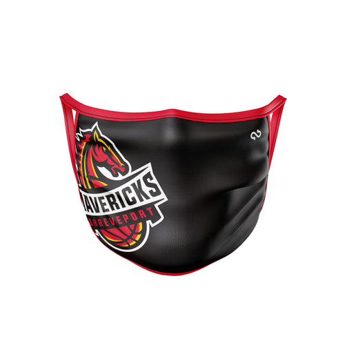 Shreveport Mavericks Face Mask