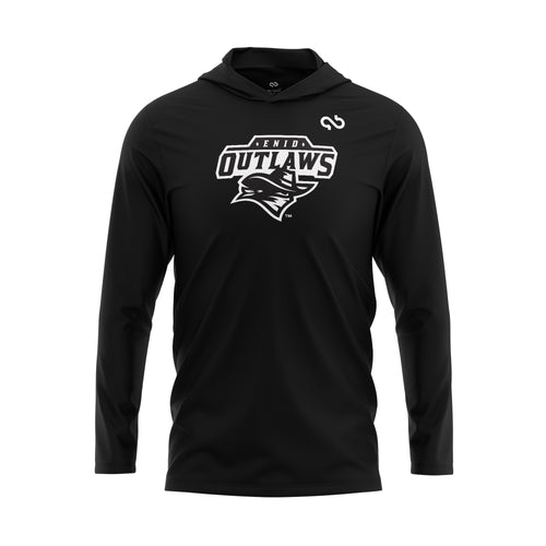 Enid Outlaws Blackout Series Hoodie
