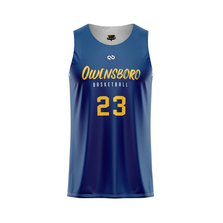 Owensboro Thoroughbreds Combine Series Double Sided Jersey