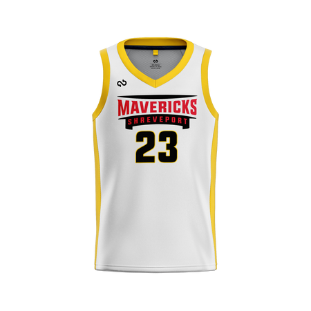 Shreveport Mavericks Official Home Jersey