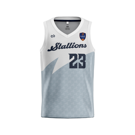 Syracuse Stallions Official Home Jersey