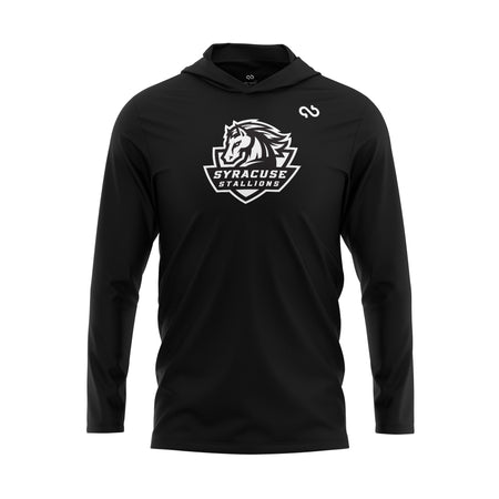 Syracuse Stallions Black Out Hoodie