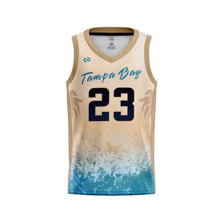 Tampa Bay Titans Official Alternate Jersey