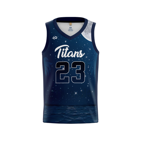 Tampa Bay Titans Official Alternate Night Jersey