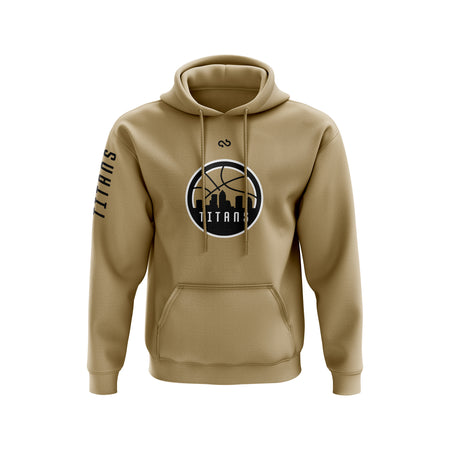 Tampa Bay Titans Secondary Logo Hoodie