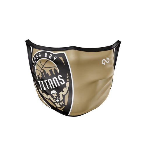 Tampa Bay Titans Face Mask