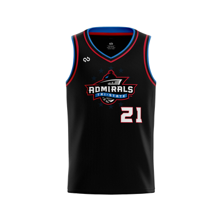 Tri-State Admirals Official Alternate Jersey