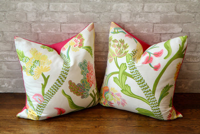 JANTA BAZAAR BRIGHTS PILLOW COVER - Pillow Talk Design | Pretty Home Accessories