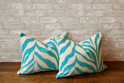 LAGUNA ZEBRA PRINT PILLOW COVER //READY TO SHIP// - Pillow Talk Design | Pretty Home Accessories