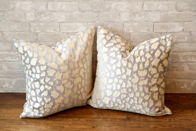 LEOPARD PRINT PILLOW COVER //ready to ship// - Pillow Talk Design | Pretty Home Accessories