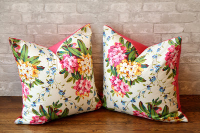 FLORAL CHINTZ PILLOW COVER //READY TO SHIP// - Pillow Talk Design | Pretty Home Accessories