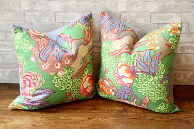 HONSHU FLORAL PILLOW COVER //READY TO SHIP// - Pillow Talk Design | Pretty Home Accessories