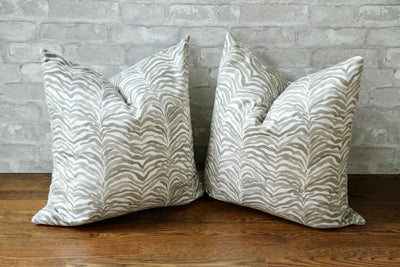 SERENGETI BISQUE PILLOW COVER // READY TO SHIP// - Pillow Talk Design | Pretty Home Accessories