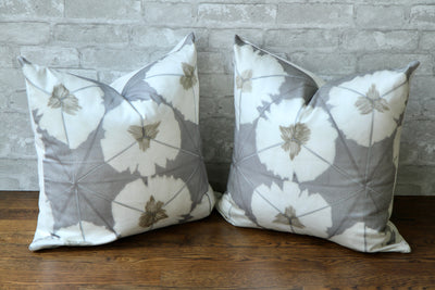SUMMERHOUSE SUNBURST GREY PILLOW COVER - Pillow Talk Design | Pretty Home Accessories