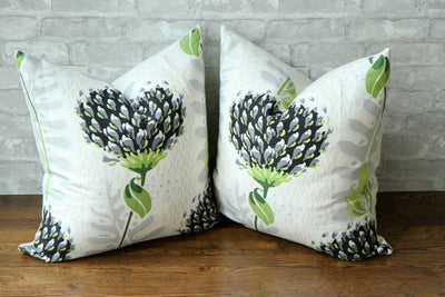 CEYLON TIVERTON BLACK PILLOW COVER - Pillow Talk Design | Pretty Home Accessories