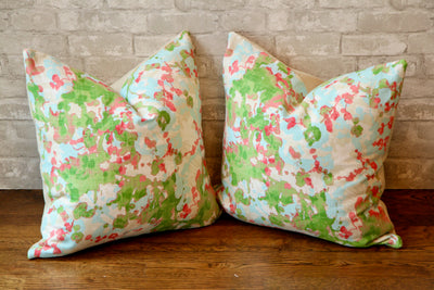 LYNWOOD CONFETTI PILLOW COVER //READY TO SHIP// - Pillow Talk Design | Pretty Home Accessories