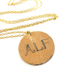 ALF  Necklace, GF|שרשרת ALF, גולדפילד
