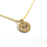 ALF vegan necklace, GF|שרשרת ALF מגולדפילד