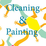 Cleaning and painting|ניקוי וצביעה