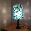 Turquoise Sea anemone light fixture|גוף תאורה טורקיזי