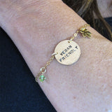 Vegan friendly bracelet|צמיד Vegan friendly