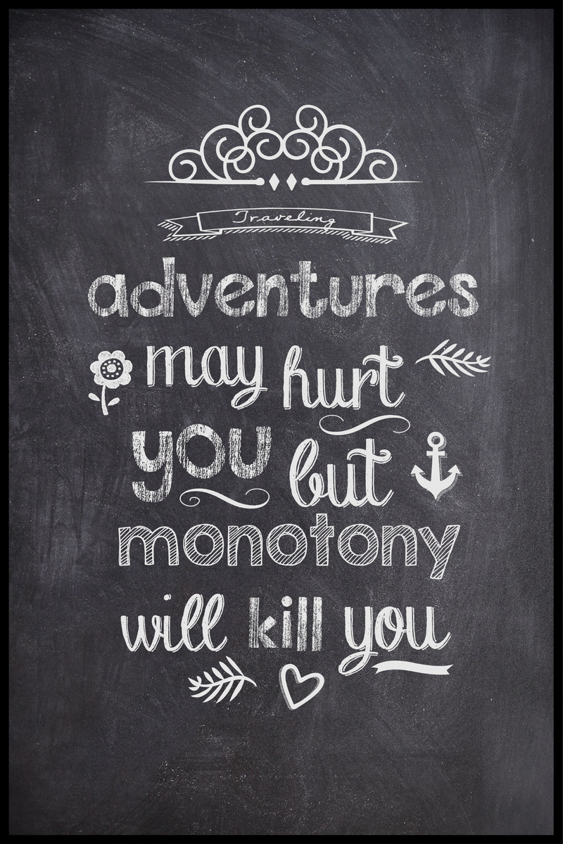 Adventures May Hurt Plakat
