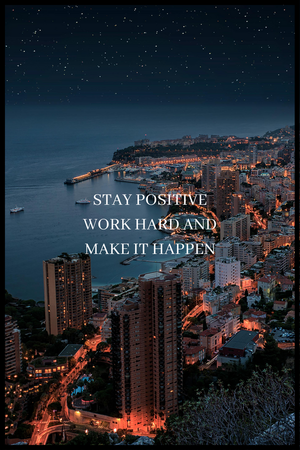 Motivation no. 8 plakat