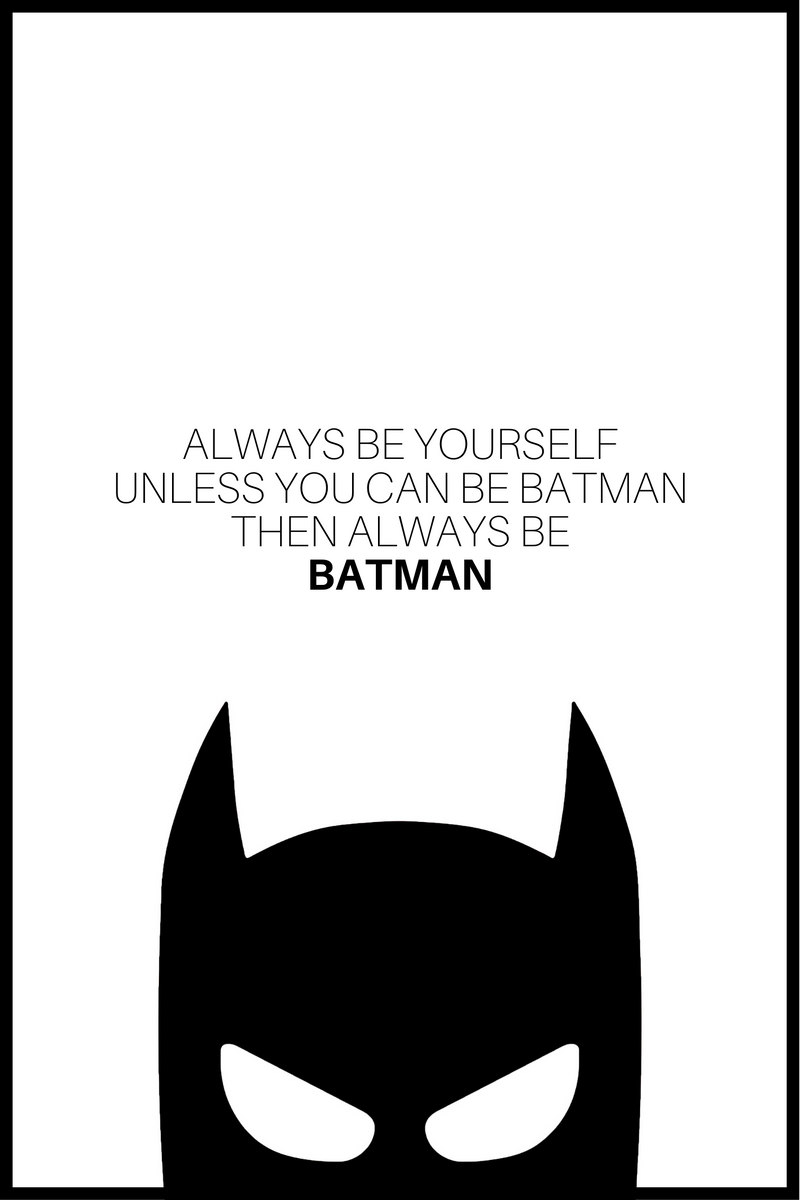 Batman Plakat