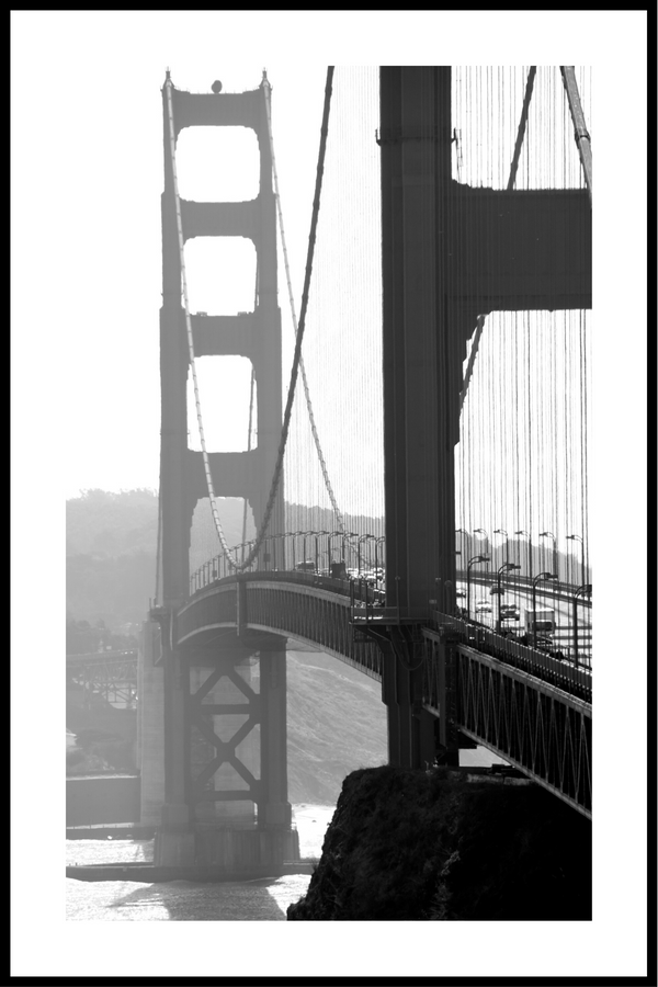 Golden gate plakat