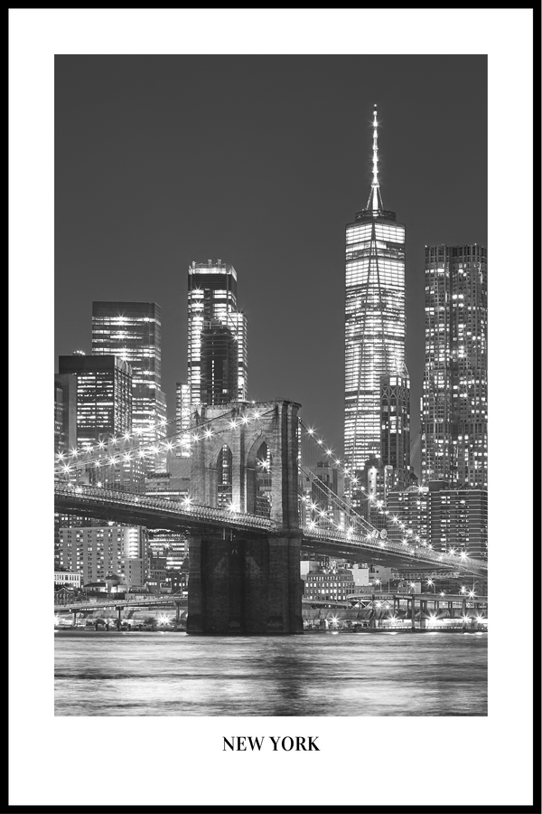 New York skyline Plakat