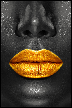 Golden kiss plakat