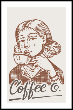 coffee plakat