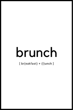 Brunch plakat
